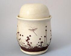 Bradshaw Meadow Jar by justmare on etsy #pottery #handmade #mug