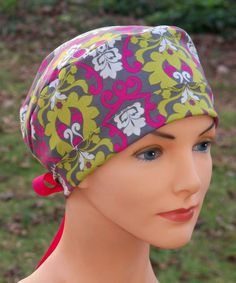 Pretty scrub cap from Etsy
