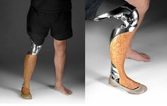 A Robotic Prosthetic Gets a Wild Western Look