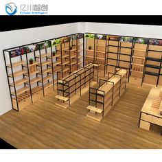 Regal Display, Produce Displays, Supermarket Shelves, Warehouse Design, Store Layout, Store Interiors, Retail Store Design, Stationery Shop, Shop Interior Design