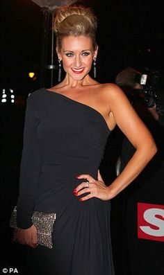 The gorgeous Catherine Tylesley in Gorgeous Couture's Gilly Maxi Dress £194