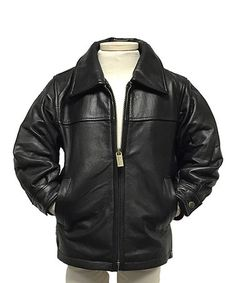 Another great find on #zulily! Olive Leather Bomber Jacket ...