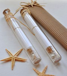 Message in a bottle-Invitation in a glass tube-Destination beach wedding invitation - beach bridal shower- baby shower invitation Message in a bottleInvitation in a glass by AMMOUDIA on Etsy Trendy Wedding, Unique Weddings, Dream Wedding, Wedding Day, Wedding Beach, Diy Wedding, Rustic Wedding, Handmade Wedding, Lace Wedding