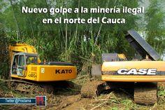 En el 2014 se han incautado 17 retroexcavadoras y se han capturado 13 personas vinculadas a la minería ilegal. [http://www.proclamadelcauca.com/2014/08/nuevo-golpe-a-la-mineria-ilegal-en-el-norte-del-cauca.html]