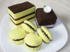 Csokis filc sütik | Textilország webshop