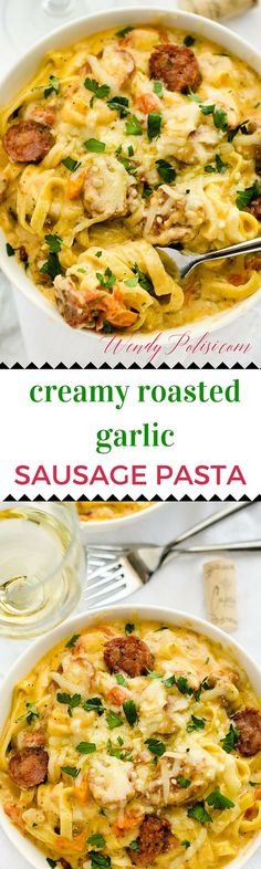 Creamy Roasted Garli