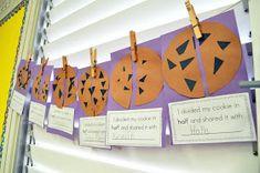 Mrs. Ricca's Kindergarten: Yummy Fractions! {Freebie}