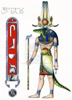 Sebek (or Sobek) #Egypt, #God, #Mythology