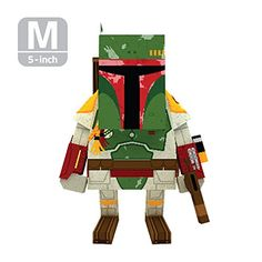 MOMOT Paper Craft Toy  STARWARS BOBA PETT 5inch M Size 13cm ** You can get additional details at the image link.