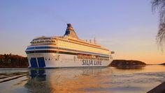 Silja Line, Cruise between Stockholm, Sweden and Helsinki, Finland.