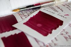 Ink Review of Diamine Syrah by PenInkcillin
