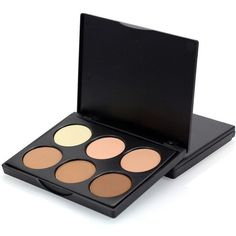 New 6 color Camouflage Concealer Palette. 6 colors Hightlighting and Concealer Palette has been created for us using the most commonly applied shades. An ensemble of multiple vibrant longwear concealer colors. Bronzer Makeup, Highlighter And Bronzer, Contour Makeup, Blush Makeup, Contour Face, Face Makeup, Makeup Cosmetics, Beauty Makeup, Color Contour