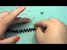 Rings Selber Machen Zigzag Beaded Bracelet, Anklet and Ring Tutorial - Jewelry Making Tutorials, Beading Tutorials, Beading Patterns, Beaded Anklets, Beaded Jewelry, Beaded Bracelets, Jewellery, Ring Tutorial, Bracelet Tutorial