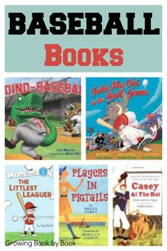 Calling all little leaguers! Time to start reading baseballs books to prepare for opening day. Take me out to the ball game!