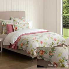 Gisela Queen Size Quilt Cover Set in Linen by Sheridan