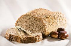 Maroni-Rezepte: Leckeres knuspriges Maronibrot Sans Gluten, Bread Baking, Oreo, Banana Bread, Rolls, Healthy Recipes, Desserts, Food, Lactose