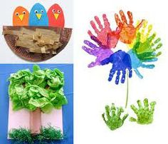 spring kid craft ideas - Google Search
