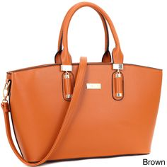 Dasein Fashion Faux Work Tote Bag, Women's