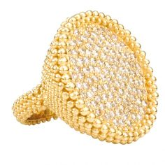 18-karat yellow gold with diamonds by  Carla Amorim
