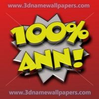 "ann 3d wallpapers | 16 3D Names for the name of ""mary-ann"""