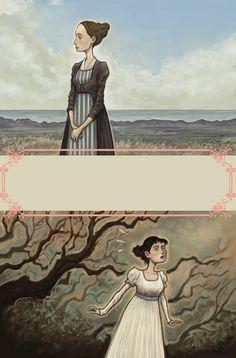 El Salón de Té de Jane - Jane's Tea Room - Nuevo comic de Sentido y Sensibilidad - Secuelas y modernizaciones