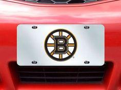 "NHL - Boston Bruins License Plate-Inlaid 6""""x12"""""