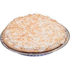 Sara Lee Chef Pierre Coconut Creme de la Cream Pie, 10 inch -- 4 per case. Pie Shop, Cream Pie, Coconut Cream, Baked Goods, Baking, Desserts, Shops, Usa, Food