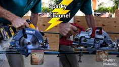 Worm Drive Vs. Hypoid vs. Sidewinder Circular Saws - YouTube Easy Woodworking Diy, Woodworking Projects Diy, Woodworking Bench, Woodworking Shop, Woodworking Enthusiasts, Best Circular Saw, Worm Drive, Hard Pressed, Find A Job