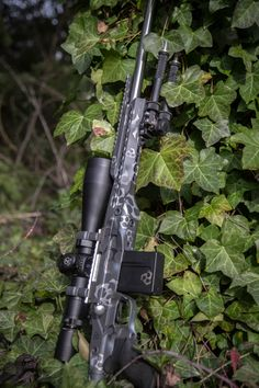 Killer Innovations Orias Chassis for Remington 700 Short and Long Action. Finish by GH Coatings. Killer-Innovations.com #leupoldoptics Self Defense Weapons, Survival Weapons, Weapons Guns, Survival Tools, Remington 700, Sniper Rifles, 9mm Pistol, Bolt Action Rifle, Snipers