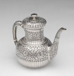 Whiting Manufacturing Co. American, 1866-1926 New York, New York, Teapot