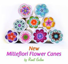 Ronit Golan - Polymer Clay Joy - Inspire to Create: New Millefiori Flower Canes - Behind the Scenes