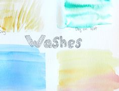 http://www.growcreativeblog.com/2014/01/how-to-watercolor-washes.html