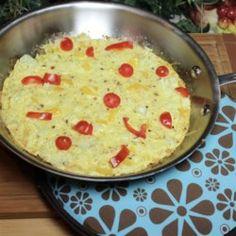 Paleo Cauliflower Rice Frittata
