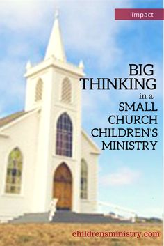 You don't have to BIG church on the corner to make an impact!