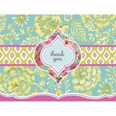 Boxed Thank You Notes - Denas Garden