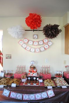 milk and cookies party