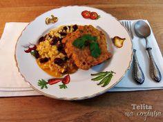 pataniscas de bacalhau com arroz de feijão
