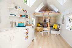 Loft space - small house