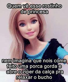 Barbie Funny, Barbie Humor, Grumpy Cat, I Laughed, Comedy, Funny Memes, Toque, Fun Quotes, Jokes