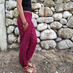 19292d44b49c2 Amazon.com: Limber Stretch Long Dance and Yoga Harem Pants: Clothing Yoga  Harem