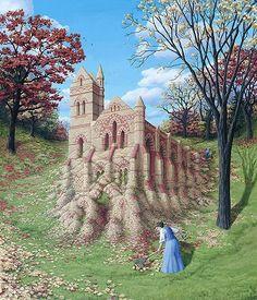 Rob Gonsalves Magic Realism illusion