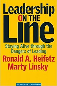Great Book!  Leadership On The Line by Ronald A. Heifetz and Marty Linsky