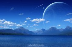 Lakeside Serenity by jadenxtrinityx