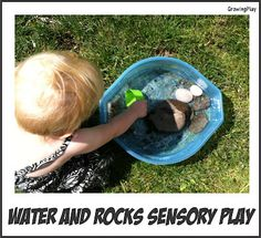 Growing Play: Toddler Time - Water and Rock Sensory Play