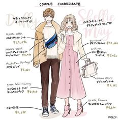 Fashion Design Template, Fashion Design Sketches, Anime Outfits, Disney Outfits, Fashion Art, Girl Fashion, Fashion Outfits, Japanese Fashion, Korean Fashion