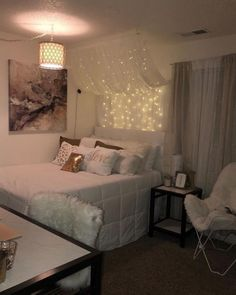 152 inspiring teen girl bedroom decor ideas 52 page 14 Cute Bedroom Ideas, Girl Bedroom Designs, Trendy Bedroom, Modern Bedroom, Bedroom Simple, Bedroom Ideas For Small Rooms For Girls, Nice Bedrooms, Teen Room Designs, Room Design Bedroom