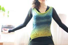 Pullover & Pullunder - aussergewöhnlicher Frühling sommer Pullover  - ein Designerstück von solvida bei DaWanda