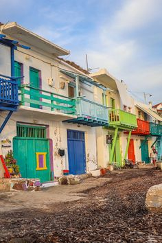 A guide to everything you need to know about visiting Klima village in Milos, including lots of photos plus tips on where to eat and where to stay. Click through for the full guide! Most Beautiful Greek Island, Best Greek Islands, Solo Travel Tips, Fishing Villages, Greece Travel, Day Trips, Travel Guides, Playground, Adventure Travel