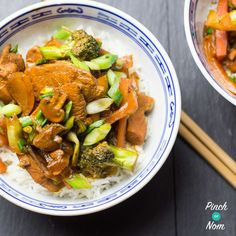 Since starting our slimming journey long gone are the days of wanting a rather calorific Chinese, when you can make dishes like this Hoisin Chicken! Chicken Satay Skewers, Hoisin Chicken, Chinese Fakeaway, Pinch Of Nom, Dairy Free Diet, Hoisin Sauce, Slimming World Recipes, International Recipes, No Cook Meals