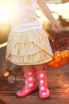 Ooh La La Skirt Pattern